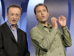 Andrew Denton and Dean Frenkel